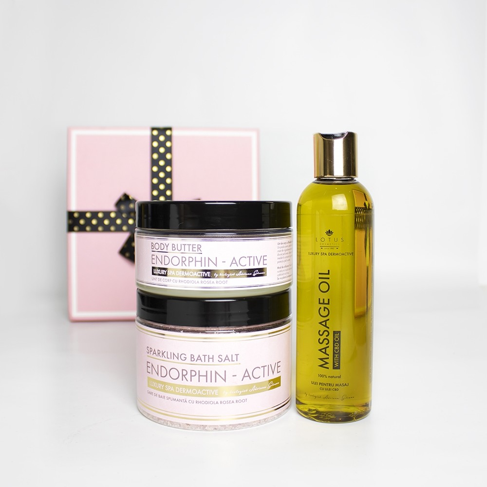 LUXURY SPA-DERMOACTIVE Cutie cadou- Endorphine Active